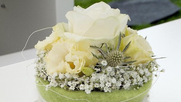 Floraler Raum- und Tischschmuck von Blumenhaus Ehling