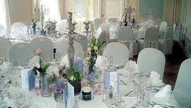 Hochzeit im Schloss mit Blumenhaus Ehling 1