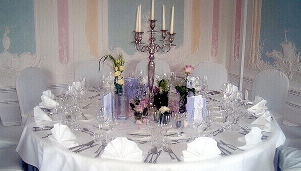 Hochzeit im Schloss mit Blumenhaus Ehling