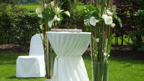 Hochzeit im Park mit Blumenhaus Ehling