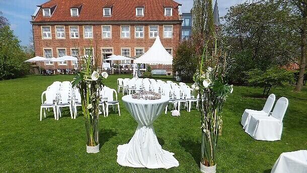 Hochzeit im Park mit Blumenhaus Ehling 2