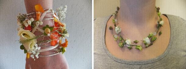 Florale Schmuckstücke