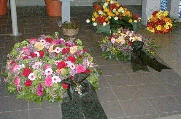 Trauerkränze vom Blumenhaus Ehling